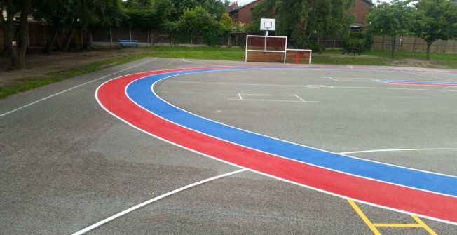 Walking Track Paint in New Buildings